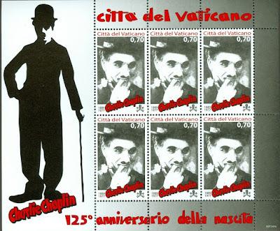 2014 Vatican City Birth of Charlie Chaplin