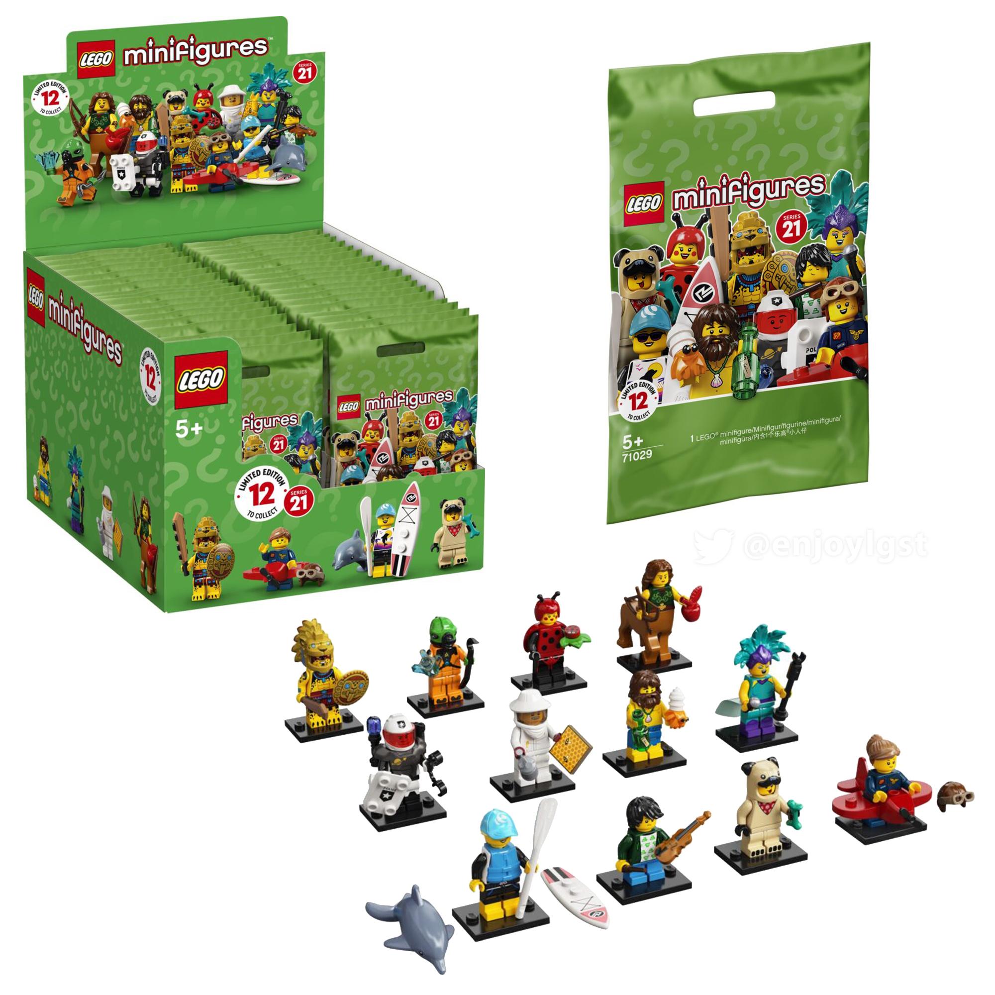 2021年1月1日(金)発売濃厚!レゴ 71029 ミニフィグシリーズ21新製品情報