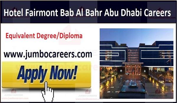 Available UAE hotel jobs,