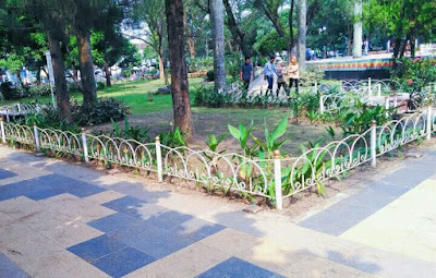 Tata Letak Taman Metro