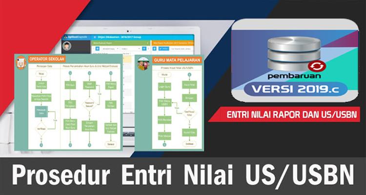 Prosedur Entri Nilai US/USBN Aplikasi Dapodik Versi 2019