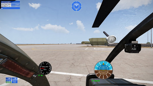 Arma3のヘリコプターに計器を表示するVP HUDアドオン
