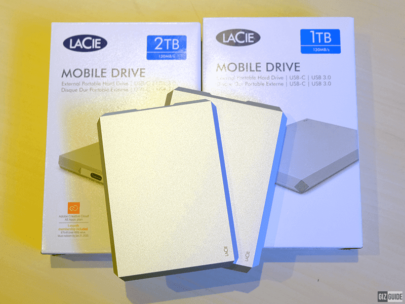 LaCie Mobile drive comes in 1TB and 2TB options