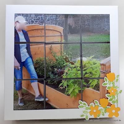 Fotopuzzle als Geschenk für eine Frau Stampin' Up! www.eris-kreativwerkstatt.blogspot.de