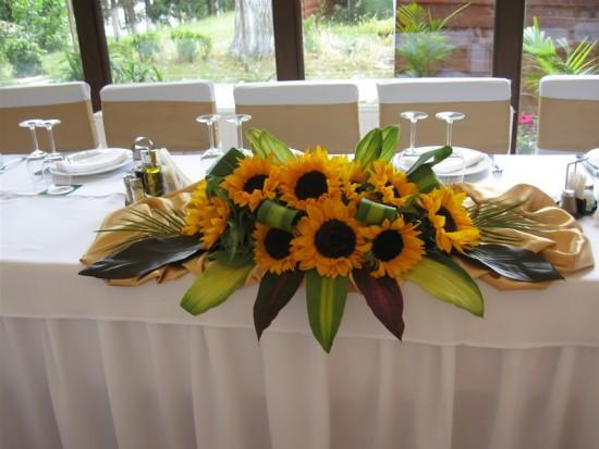 Chic Moments Decor Nunta Floarea Soarelui Buchet Mireasa