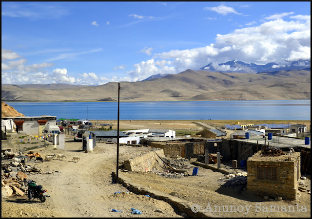 Tso Moriri Lake - from my Ladakh Motorcycle diary