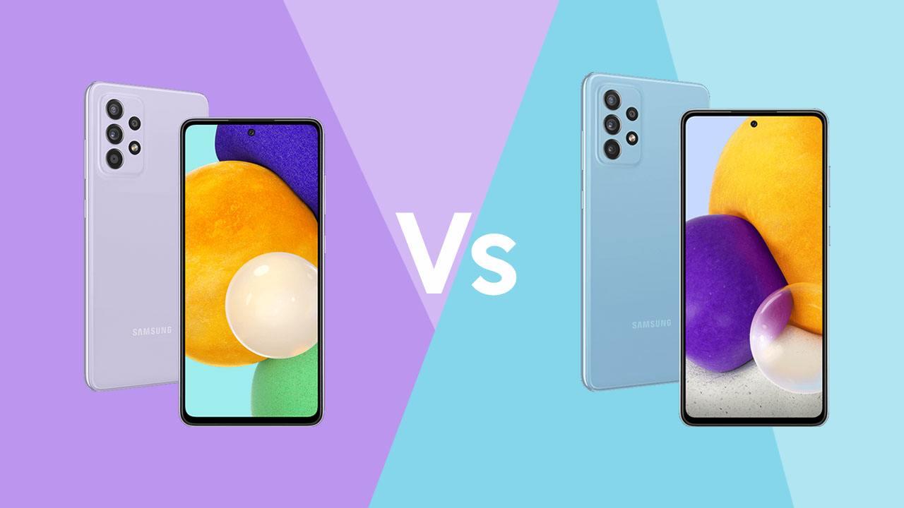 Galaxy A52 vs Galaxy A72