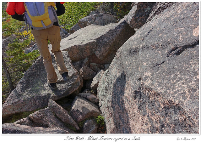 Kane Path: What Boulders regard as a Path