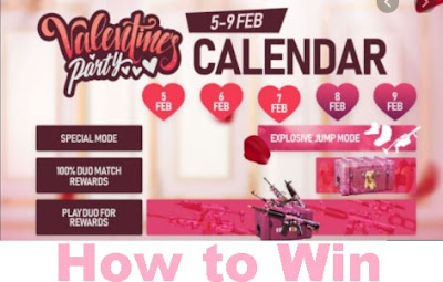 Free Fire: How to play Valentine's Party event and Win Rewards| Pink Box Reveal