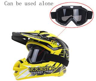 Kacamata Helm Masker Anti Corona