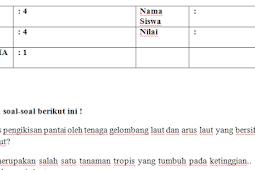Soal Kelas 4 Tema 4 Subtema 1,2,3 Lengkap