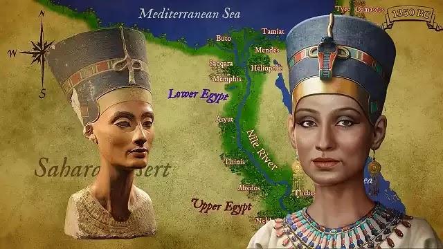 Ancient Egypt Queen Nefertiti