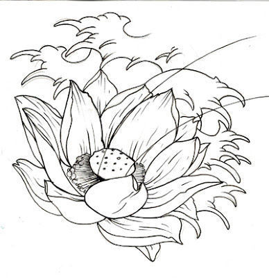 Love Celebrity American Lotus Flower Tattoo Meanings