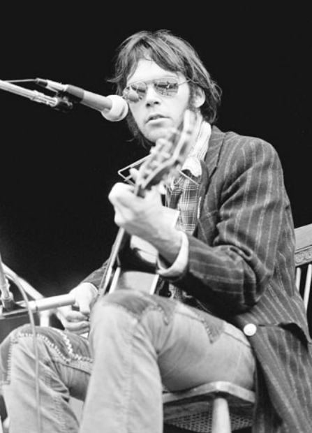 Bespectacled Birthdays: Neil Young, c.1970s