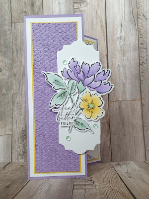 Hand-Penned Petals Stampin Blends Stampin up