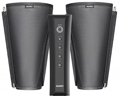 AGARO 33432 Air Compression Leg Massager for Foot, Arm and Calf | Best Air Compression Leg Massagers in India | Air Compression Massager Machine