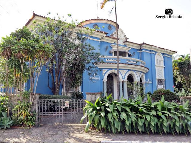 Vista ampla de um Antigo Casarão na Avenida Pacaembu 1738 - Pacaembu - São Paulo