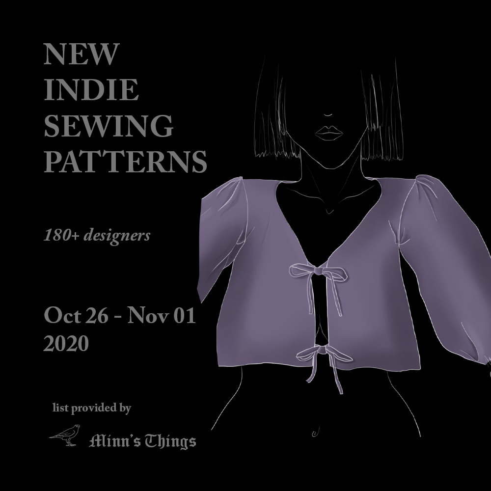 sewing patterns indie designers new releases updates fresh current list sales chalk notch closet core fashion dresses tops coats