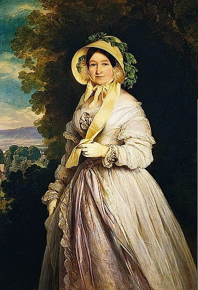Princess Juliane by Franz Xavier Winterhalter, 1848