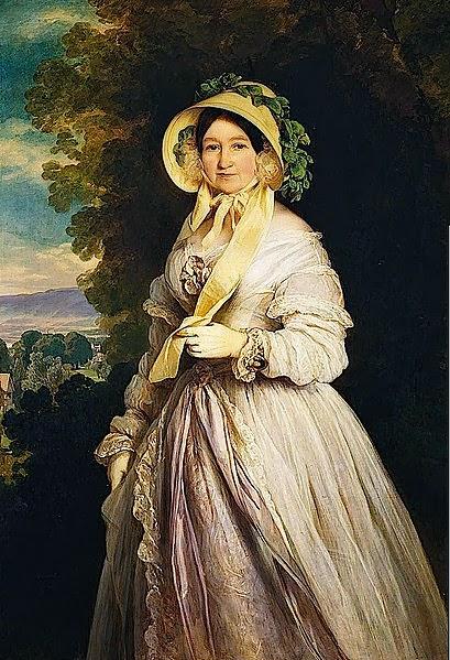 Princess Juliane by Franz Xavier Winterhalter, 1848