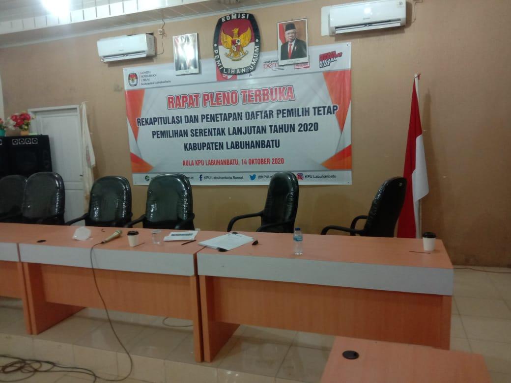 Ketua KPU Labuhanbatu: Daftar Pemilih Tetap Sebanyak 297.682 Orang Sudah Final