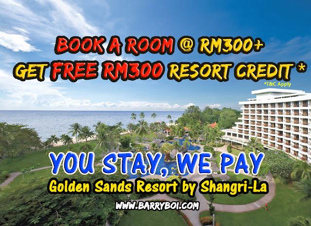 Book Hotel in Penang Golden Sands Resort by Shangri-La Penang Blogger Influencer