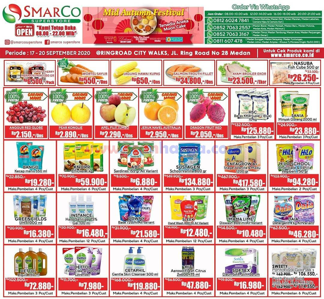 Katalog Promo SMARCO Superstore Periode 17 - 20 September 2020