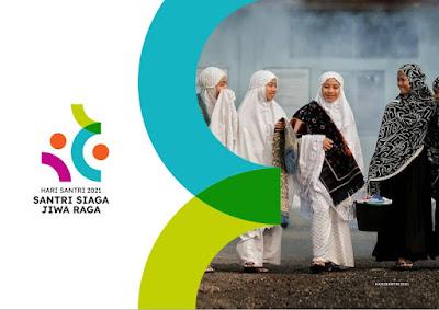 Logo Hari Santri Nasional 2021 Versi Kemenag File PNG, JPG, CDR dan Photoshop