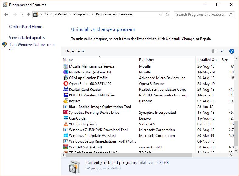 uninstall-programs-in-windows-10-through-control-panel