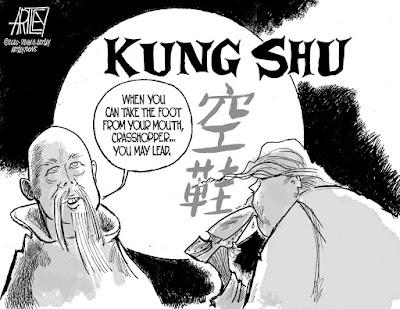 Editorial cartoon by Steve Artley©