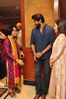 Aiswarya Rajinikanth Dhanush Standing on an Apple Box Launch Stills in Hyderabad  0044.jpg