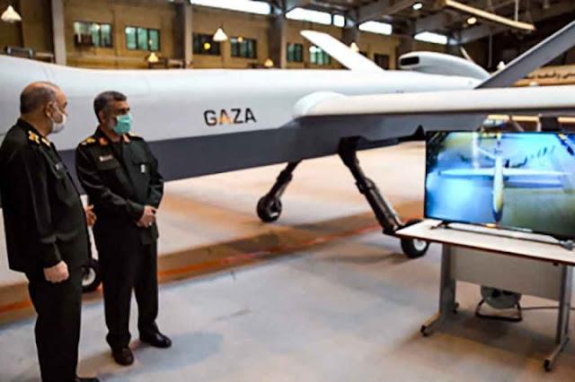 Penghormatan untuk Palestina, Iran Pamerkan Drone Baru 'Gaza'