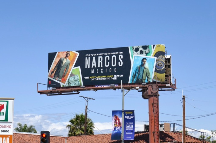 Narcos Mexico 2019 Emmy FYC billboard