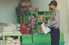 Antisipasi Kelangkaan Dan Kenaikan Bahan Pokok Polsek  Batang Kota Cek Harga Di  Pasar Tradisional
