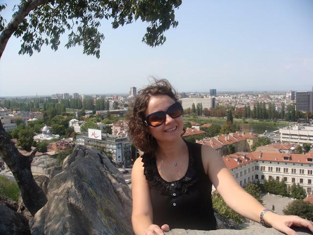 Filibe Nöbet Tepe'den Meriç ve Plovdiv manzarası