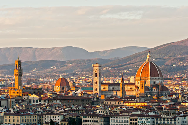 The Duomo of Florence seen from Piazzale Michelangelo