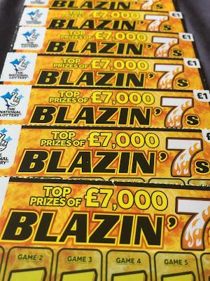 £1 Blazin' 7s