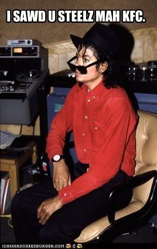Steal Michael Jackson KFC Meme