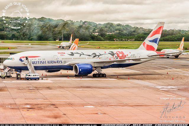 British Airways introduces flight from London Heathrow to Bermuda| Photo © Herbert Monfre - Airplane photographer - Events - Advertising - Essays - Hire the photographer by e-mail cmsherbert@hotmail.com | Image produced by Herbert Pictures - MORE THAN FLY