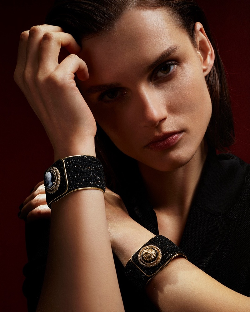 Chanel launches Mademoiselle Privé Bouton campaign.