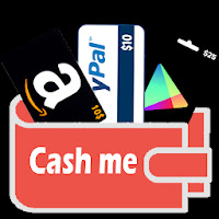 تتحميل تطبيق Cash Me لربح 1 دولار و الفوز ببعض الهدايا كل يوم