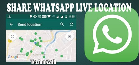 It's been possible to share your location in WhatsApp for some time,