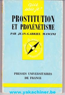 Prostitution et Proxénétisme