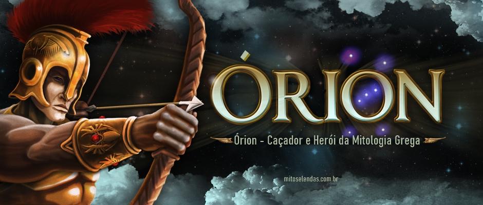 Órion - Caçador e Herói da Mitologia Grega