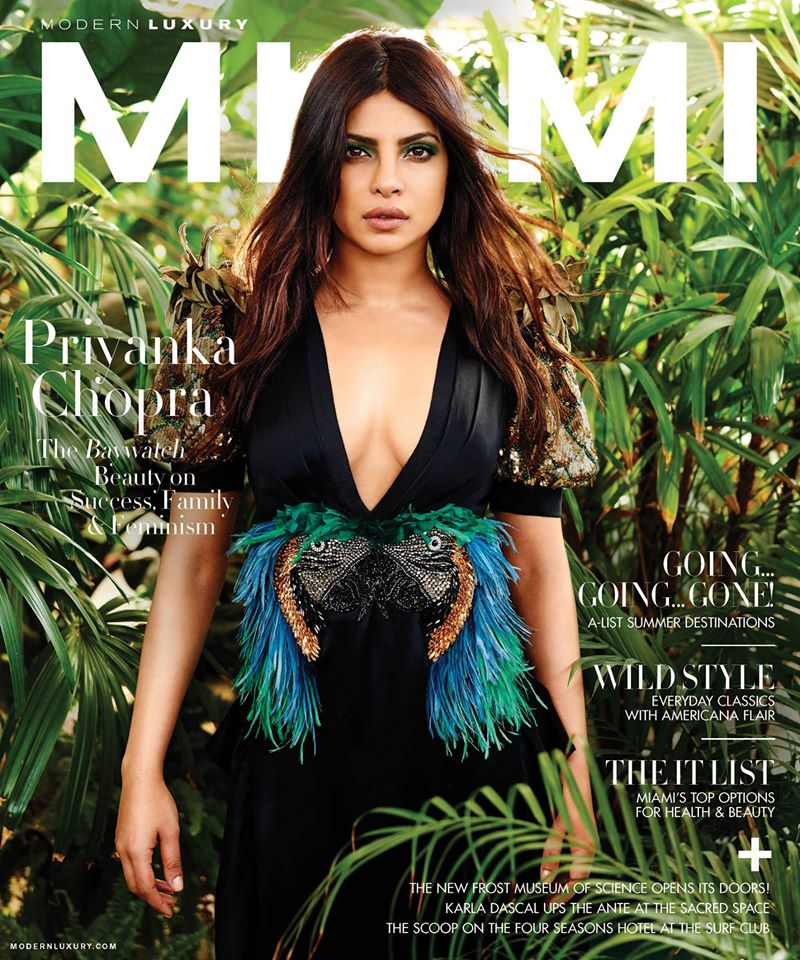 Priyanka Chopra Miami Magazine Photo shoot