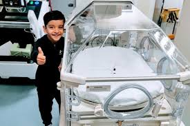 6-year old boy born premature raises £19K to help buy incubator for hospital as a form of THANK YOU
