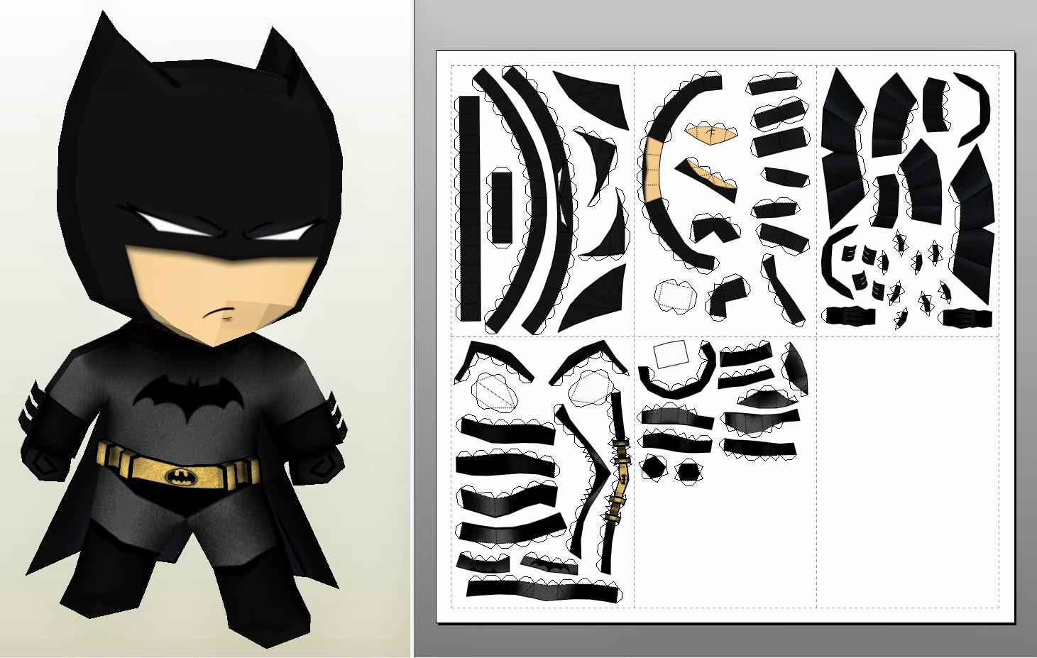 Pepakura Batman