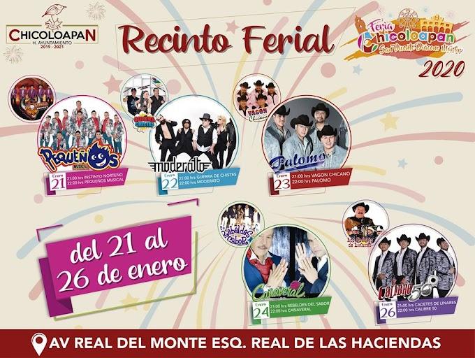 Feria San Vicente Chicoloapan 2020