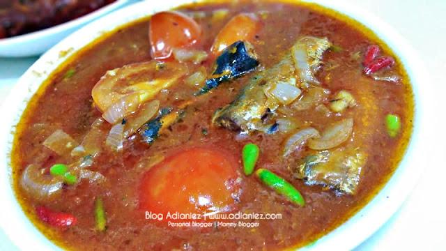 Menu Makan Malam | Sardin, Ikan Bilis & Timun