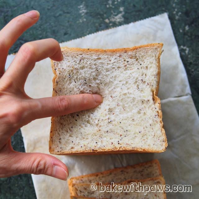 Soft Flaxseed Sandwich Bread